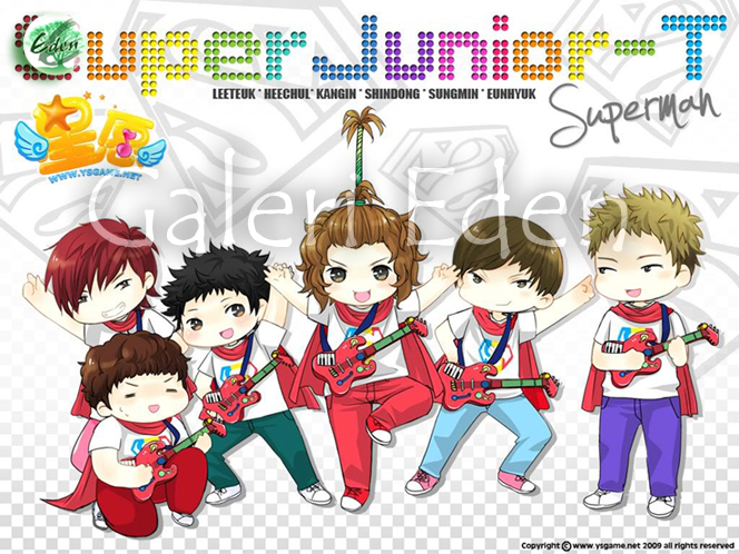 Fan-Art] Super Junior T- Superman « perfectjunior